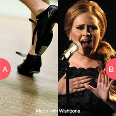 Tap dance or sing everywhere you go? Click here to vote @ http://getwishboneapp.com/share/8020586