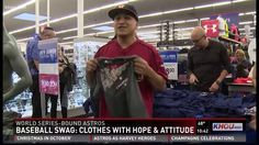 Stores see long lines as Astros fans flood in to buy World Series gear -  YouTube ef992fad54fa