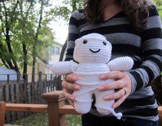 Mummy crochet doll by FreshStitches