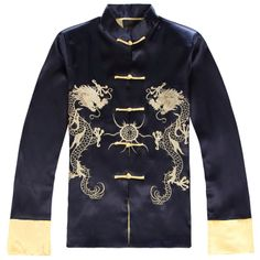 Traditional chinese style tang suit male long-sleeve chinese style men's clothing national clothes $41.41