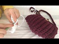 Midyeçanta1.parti - YouTube Crochet Videos, Crochet Bags, Eminem, Diy And Crafts, Jewelry, Crochet Purses, Towels, Knit Bag, Trapillo