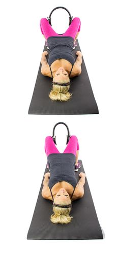 Have you tried the pilates ring? Here are some great moves to try it with.