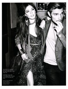 The New Boho Chic, Jacquelyn Jablonski photographed by Alexi Lubomirski for H Magazine Spring 2011 - ego-alterego.com