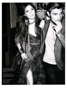 The New Boho Chic, Jacquelyn Jablonski photographed by Alexi Lubomirski for H Magazine Spring 2011 - ego-alterego.com
