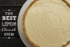 You will love this 3 ingredient no bake lemon cheesecake and it& quick, easy and delicious. Check out the quick video tutorial too. 3 Ingredient Cheesecake, Lemon Cheesecake Recipes, Lemon Recipes, Easy No Bake Desserts, Dessert Recipes, Desserts Diy, Cold Desserts, Lemon Desserts, Holiday Desserts