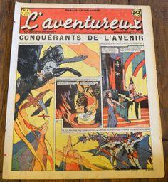 L'aventureux 1ere Annee 1936 N 8 : Conquerants de L'avenir