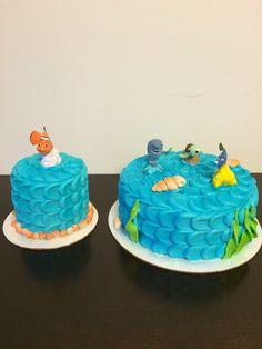 Finding Nemo smash and birthday cake