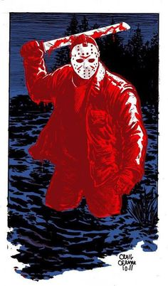 Cool Jason artwork. ~Michael Myers