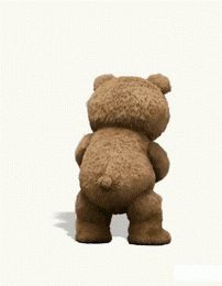 Happy Teddy Day Gif-Show your loved one how much you care. Teddy day is the day you make his or her day better; Teddy Day, Baby Teddy Bear, Facebook Humor, Animation, Shaking Gif, Drinking Gif, Bear Drink, Bear Gif, Cool Pictures
