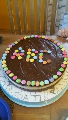 Baunty -Torte zur Einschulung