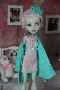 Вязание для кукол   VK