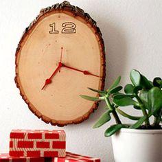 33 inspiring ways to use sliced wood via Blue Velvet Chair. (via Design Sponge)