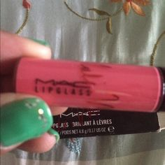 Viva Glam Nicki lipgloss  Authentic brand new Rare find MAC Cosmetics Makeup Lip Balm & Gloss