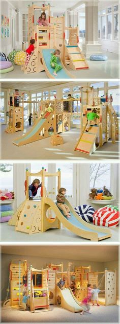 These would be awesome for indoor gross motor play