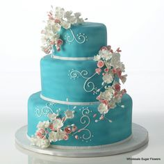 Wholesale Sugar Flowers - Precious Elegance Cake Kit, $55.99 (http://www.wholesalesugarflowers.com/precious-elegance/)