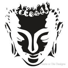 buddah face by Create or Die Designs