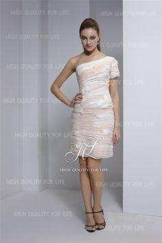 robe de cocktail 2012, fête de la famille, épaule asymétrique  http://www.robesoire.fr/par-forme/678-a-line-picture-color-one-shoulder-knee-length-chiffon-evening-dress-pmp6.html#