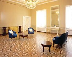 Czar Floors - amazing custom inlaid solid wood flooring, medallions, borders, etc. This is a repeated compass rose pattern. Amazing.