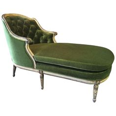 Early 20th Century Louis XVI Chaise Longue | From a unique collection of antique and modern chaise longues at https://www.1stdibs.com/furniture/seating/chaise-longues/