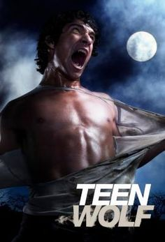 Teen Wolf--I have no idea how I became obsessed with show---the half naked boys perhaps?