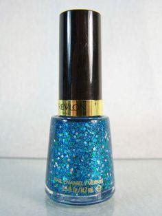 #Revlon Radiant bright aqua/turquoise/teal #blue #holographic hexagonal mosaic #glam #glitter #metallic #shimmer nail polish/color/enamel/varnish/lacquer in a 0.5 fl. oz./14.7 ml full size bottle, brand new & unused http://www.ebay.com/itm/NEW-REVLON-RADIANT-NAIL-POLISH-COLOR-ENAMEL-441-BLUE-GLITTER-SHIMMER-METALLIC-/141053504885?pt=US_Nail_Care&hash=item20d771ad75