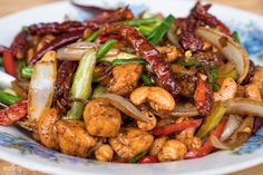 In this Thai cashew chicken recipe you'll learn how to make an authentic version that's easy to cook. Get ready to eat amazing Thai cashew nut chicken!