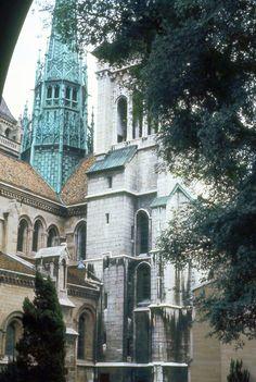 Geneva Cathedral, switzerland. I visited back in 2002. Lovely place but freezing when I went.