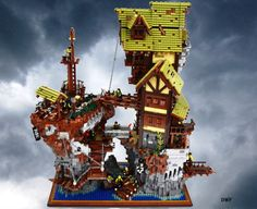 Epic Pirate Island Hideout by David Frank | The Brothers Brick | LEGO Blog