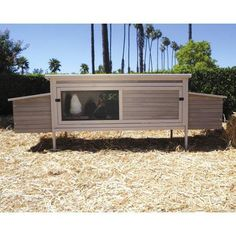 precision pet products hen den chicken coop with nesting box and roosting bar - Precision Pet Products