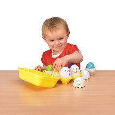 Tomy Play to Learn Hide n Squeak Eggs: Tomy: Amazon.co.uk: Baby