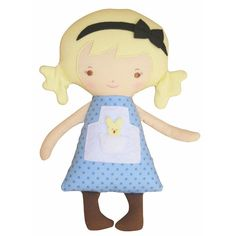 Lil' Alice Woodland Friends Doll by Alimrose from Australia. Because fairy tales shouldn't just live in books.