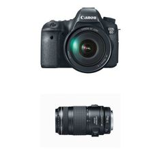Canon EOS 6D Digital SLR Camera with 24-105mm USM and 70-300mm Lens -- Click on the image for additional details.