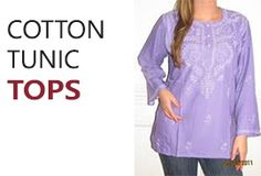 Browse discounted top quality cotton tunic tops, Indian tunics for women. Plus size, unique designer evening cotton tunic tops for spring and summer on sale. Shop affordable women Tunics on 50% - 70% off on sale now at YoursElegantly. You can dress a tunic top up with jeans and heels, or wear with flats and leggings for the perfect gorgeous look.