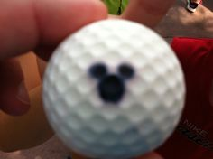 The golf ball from Soarin at Disney World!