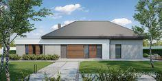 Projekt domu HomeKONCEPT-26 | HomeKONCEPT Village House Design, Village Houses, Sims House, House 2, Modern House Design, Planer, Building A House, House Plans, New Homes