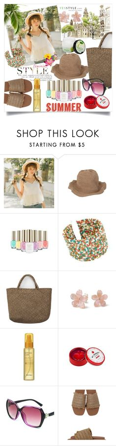 """Yes Style"" by perfex ❤ liked on Polyvore featuring DaBaGirl, The Face Shop, Tony Moly and Missha"