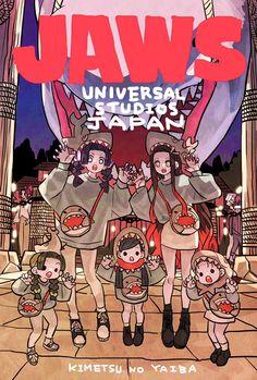 Manga Anime, Anime Demon, Anime Art, Demon Slayer, Slayer Anime, Universal Studios Japan, Cartoon Memes, Cartoons, Cute Chibi