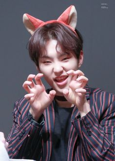 roar | all fear the scary Hosh | director's cut fansigning | soonyoung