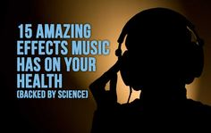 15 Amazing Effects Music Has On Your Health (Backed By Science) Many people don't know this but listening to music is not just something that brings joy, it can also improve your health in a variety of ways and scient Music And The Brain, Intelligence Is Sexy, Better Music, Techno Music, Hard Workout, Sound Healing, Music Therapy, Meditation Music, Depression Symptoms