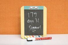Chalkboard Locker decorations www.fiskars.com