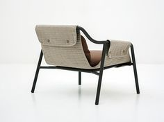 UPHOLSTERED ARMCHAIR WITH ARMRESTS JACKET JACKET COLLECTION BY TACCHINI ITALIA FORNITURE | DESIGN PATRICK NORGUET