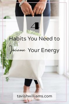 Tired and unmotivated at work? Wanting energy and not sure how to get it? Here are 4 tips to increase your energy, productivity and maybe even motivation.