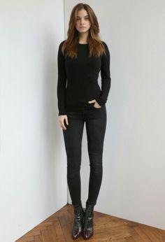Best in black. Barbra Palvin.