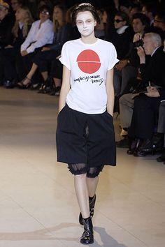 Sfilata Comme des Garçons Parigi - Collezioni Primavera Estate 2007 - Vogue