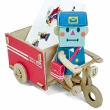 Mimoto - Play-Deco Postman And Wagon