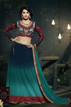Look different in any occasion with our beautiful and dazzling range of lehenga choli. Buy latest lehenga choli designs for party, wedding, marriage reception or any upcoming events. Bridal Lehenga Online, Lehenga Choli Online, Bridal Lehenga Choli, Lehenga Saree, Choli Designs, Indian Sarees Online, Indian Ethnic Wear, Pretty Outfits, Party Wear