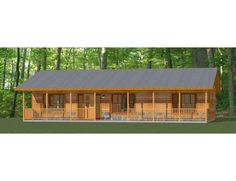 House Plans For Sale, Cabin House Plans, Small House Plans, House Floor Plans, Dog Trot House Plans, Cabin Kits, Custom Home Designs, Custom Homes, Porch Steps