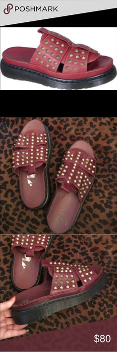 0f7a433c990 Dr. Marten Rare Skye Studded Sandal unisex I love these shoes! Sadly they  are