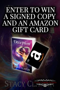 Win a $50 Amazon Gift Card & a Signed Paperback from Stacy Claflin