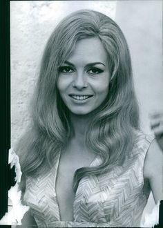 Vintage Photo of Michèle Mercier Smiling 1966   eBay